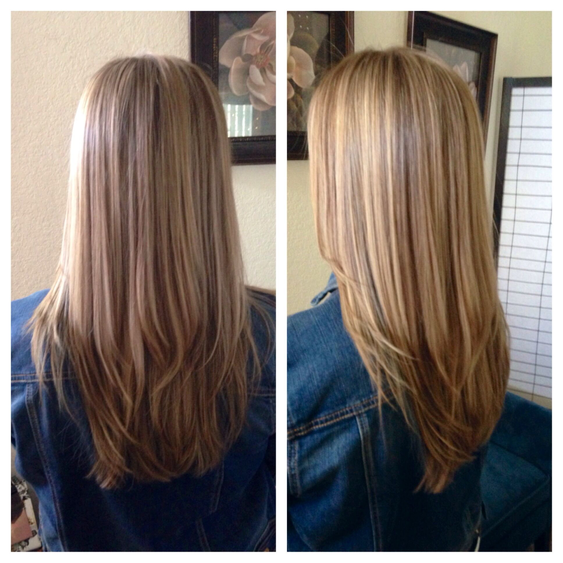 "Bronde"" Blonde highlights lowlights by HairVanity"