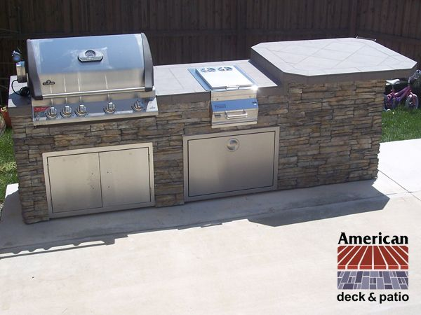 Charlestown, WV Outdoor Kitchen Custom Outdoor Kitchen And Bar. Stainless  Steel Napoleon Grill,