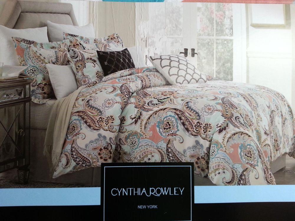 cynthia rowley comforter sets | white ruffle bedding set | home