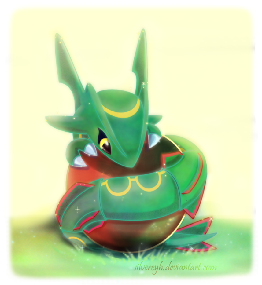 Image result for cute rayquaza