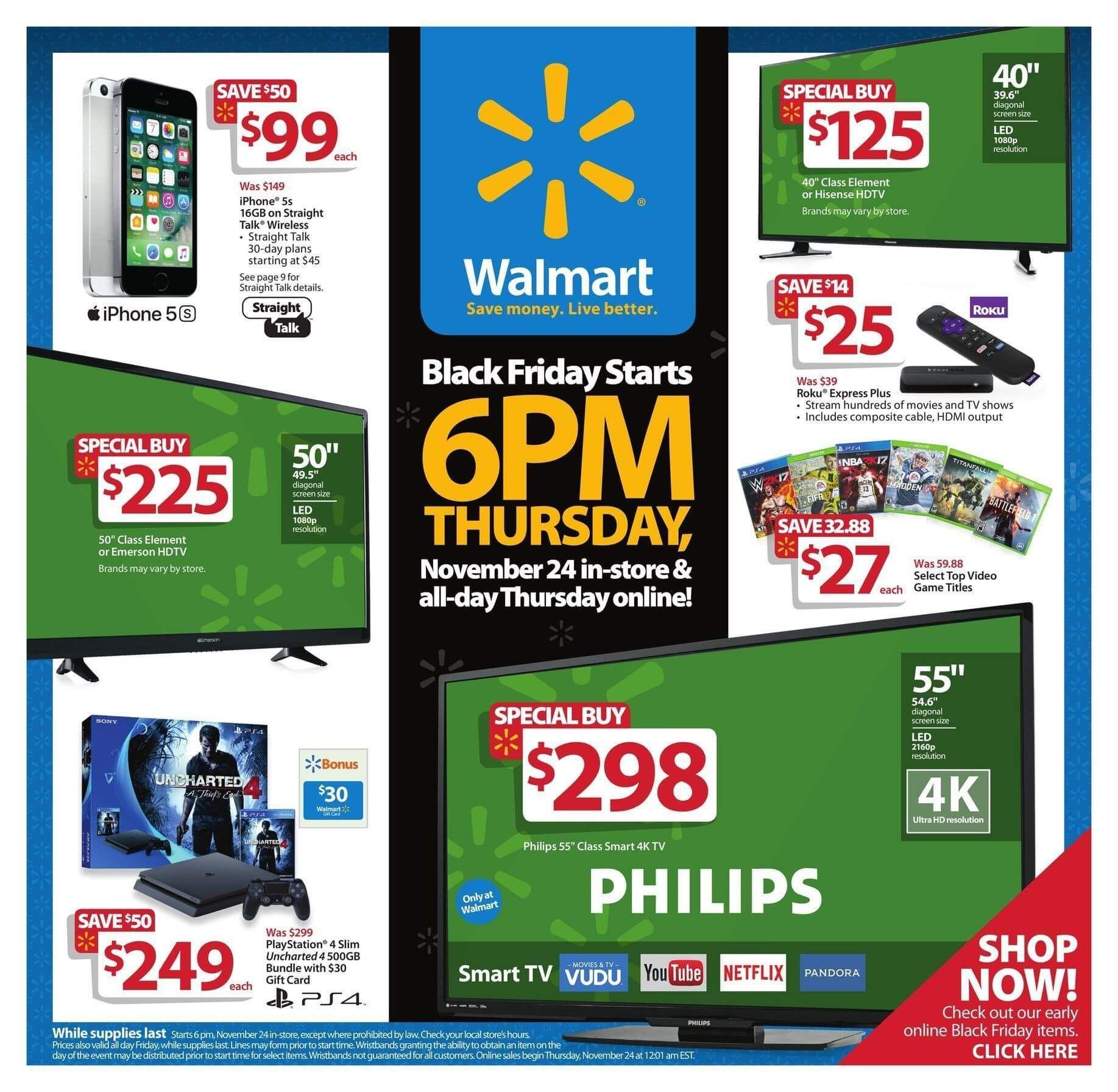 Walmart Black Friday 2016 Ad Page 1 Walmart Black Friday Ad Black Friday Walmart Black Friday