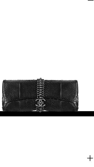 Chanel python evening clutch  b6bfc6e7bdbdf