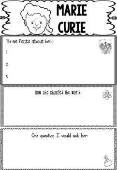 Marie curie homework help