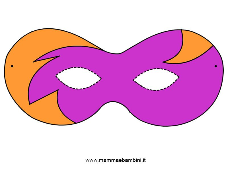 Maschere di carnevale tante maschere di carnevale da for Maschere stampabili