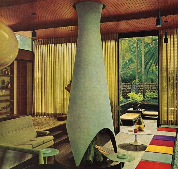 decoration interieur 1970