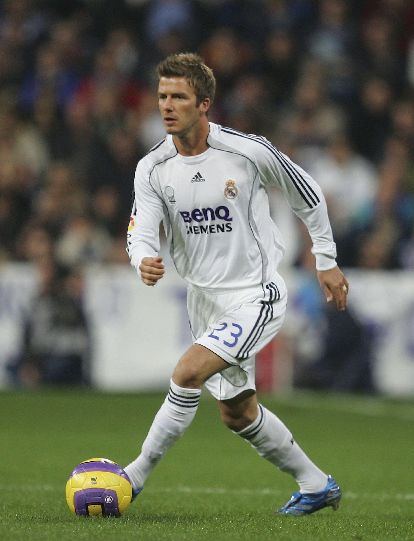 David Beckham on Real Madrid HIGH QUALITY ~  8581fe28c