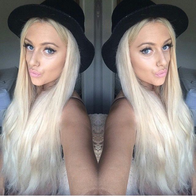 Zala Ice Queen Platinum Blonde Clip In Hair Extensions Stuff To