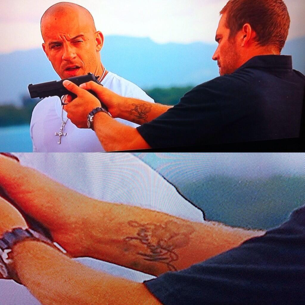 Paul Walker Tattoo Paul Walker Pinterest Paul Walker Rip