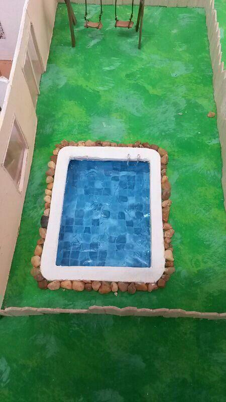 Piscina para maquetas dise o industrial y otros dise os for Materiales para construir una piscina