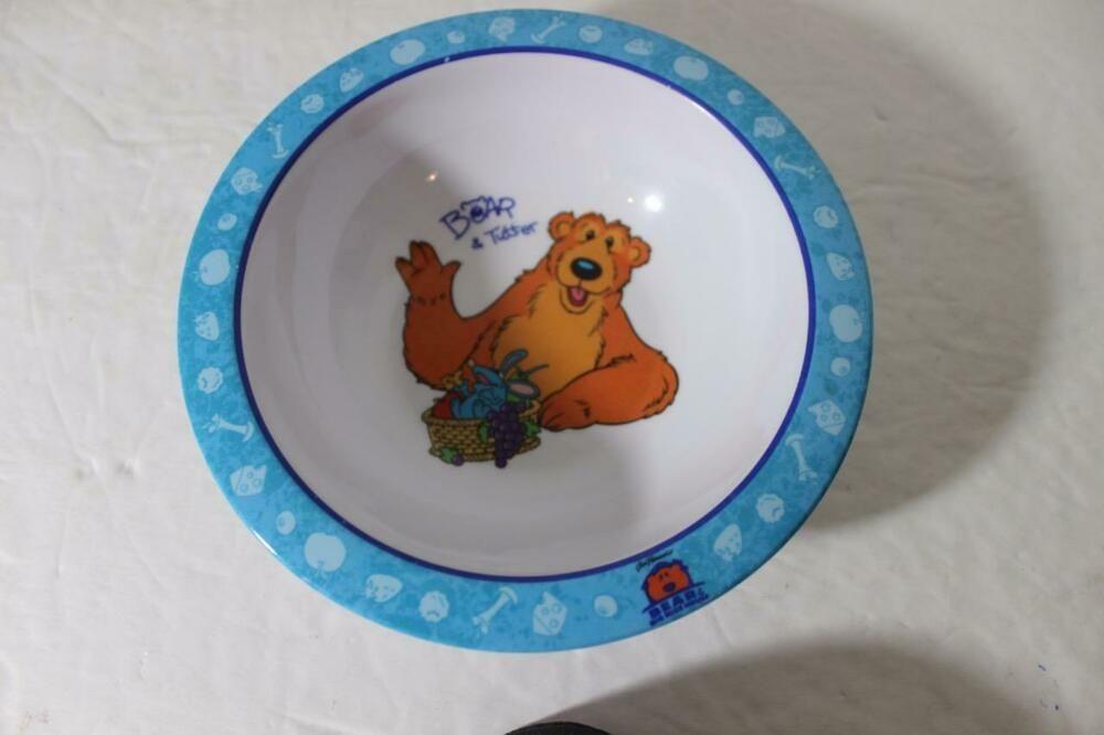 Disney Jim Henson Bear In The Big Blue House Melamine Bowl Bear