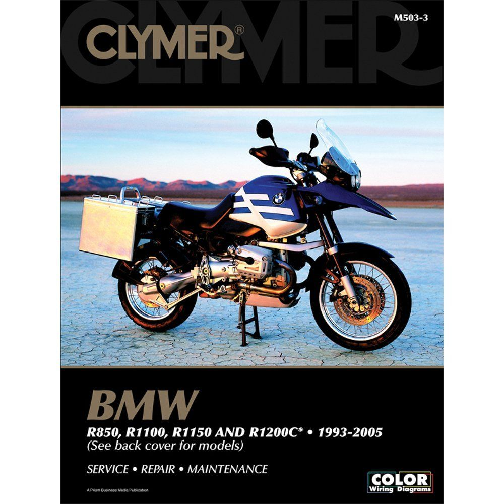 Clymer Maintenance Repair Manual For 1999 Bmw R1100s Clymer Repair Manuals Bmw