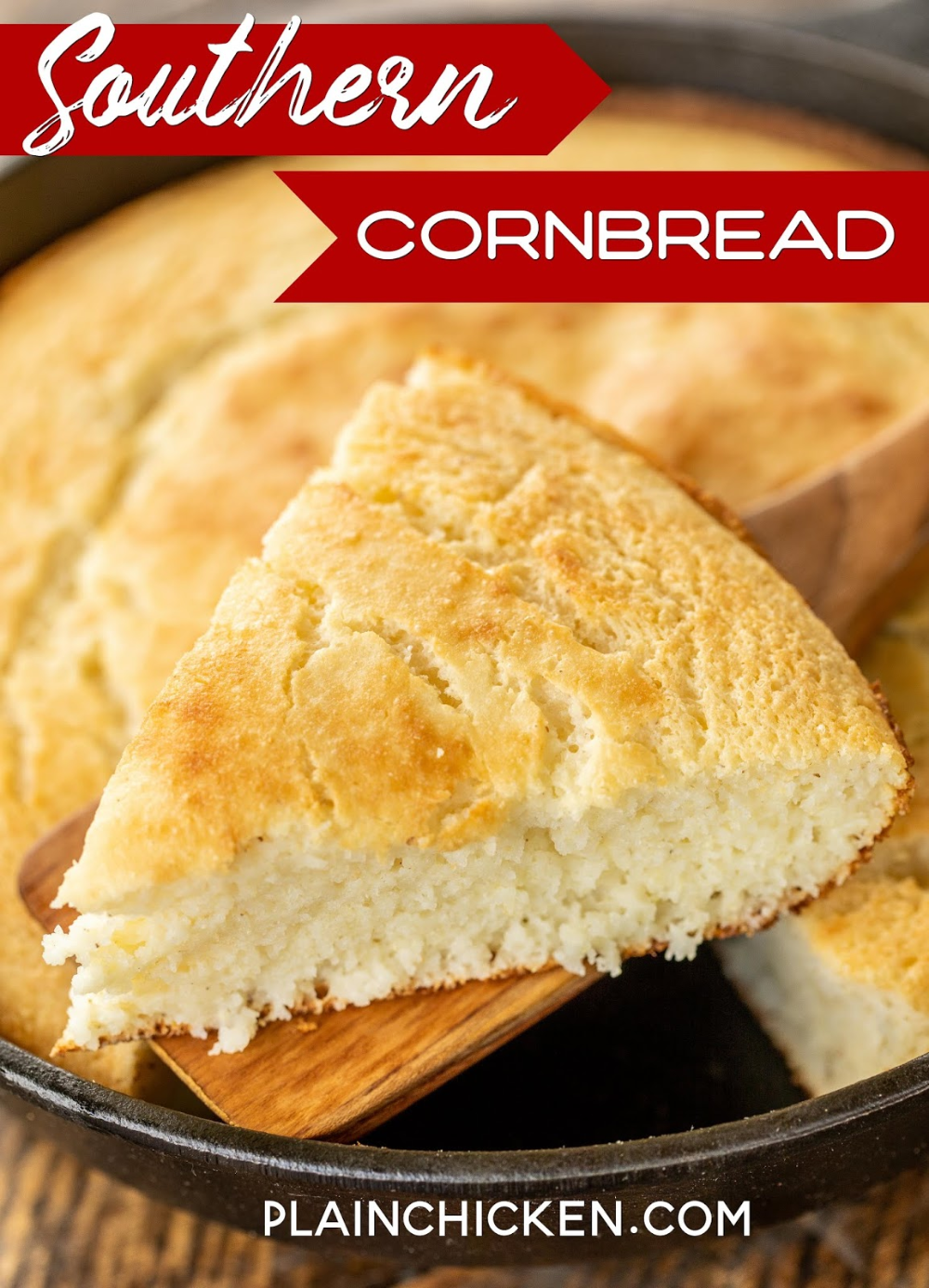 Southern Cornbread Recipe Southern Cornbread Recipe Cornbread Recipe Sweet Southern Cornbread