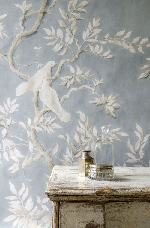 wallpaper | Wallpapered Interiors | Pinterest | Papier peint ...