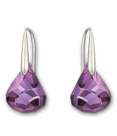 c02f0816b Swarovski Lunar Amethyst Crystal Drop Earrings #Dillards   laurarose ...