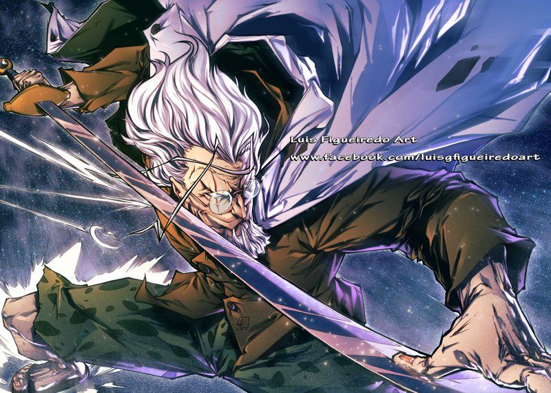 SILVERS RAYLEIGH Dark King ONE PIECE COMMISSION by