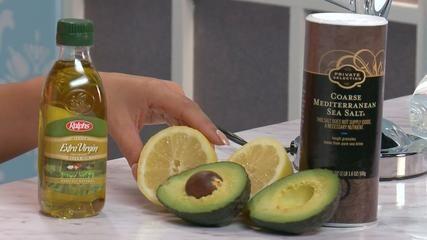 DIY Avocado Body Mask