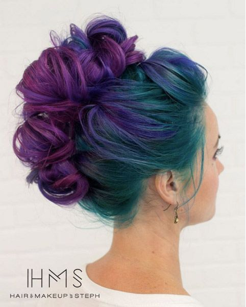 Crazy Cool Hair Color Ideas to Try (If You Dare | Hair coloring ...