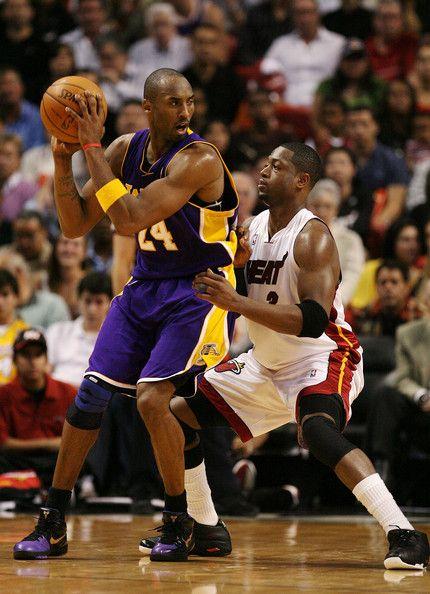Dwyane Wade Photos Photos Los Angeles Lakers V Miami Heat Kobe Bryant Dwyane Wade Kobe Bryant Black Mamba