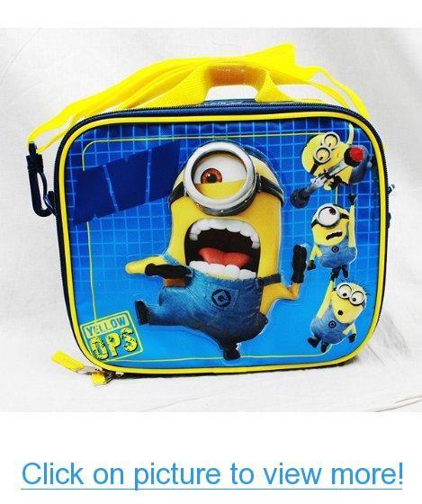 2469028773 Despicable Me - Minions Anti Villain League Lunch Bag