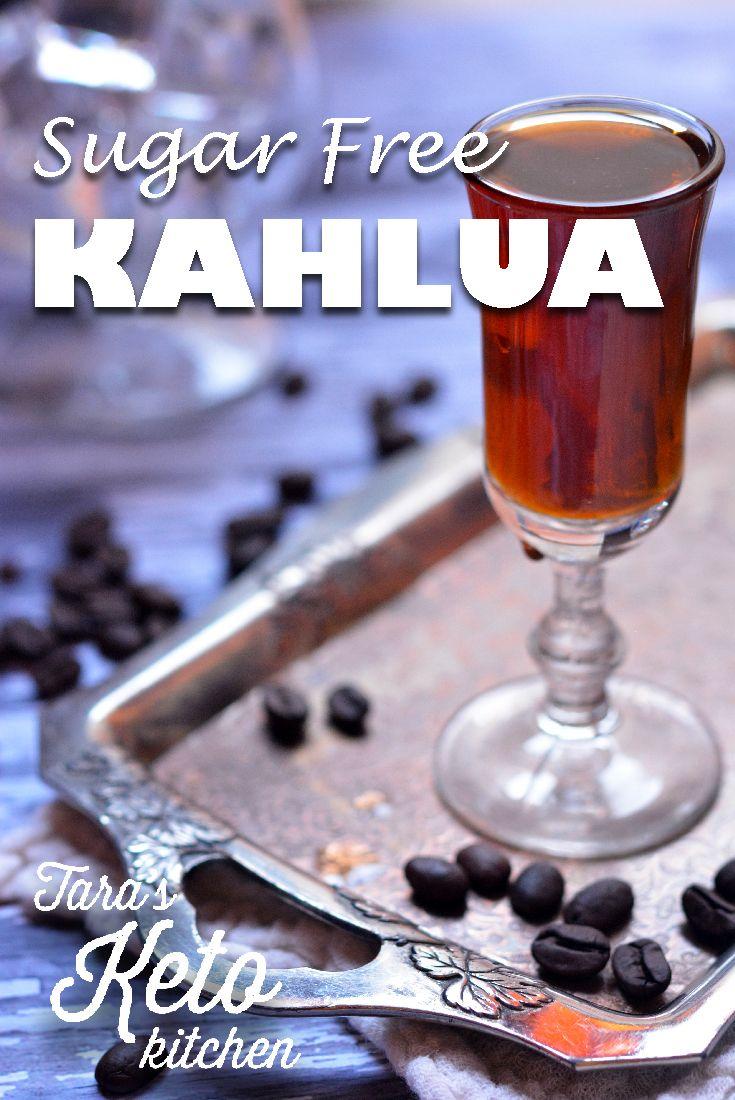 Homemade Sugar Free Kahlua Recipe Kahlua recipes