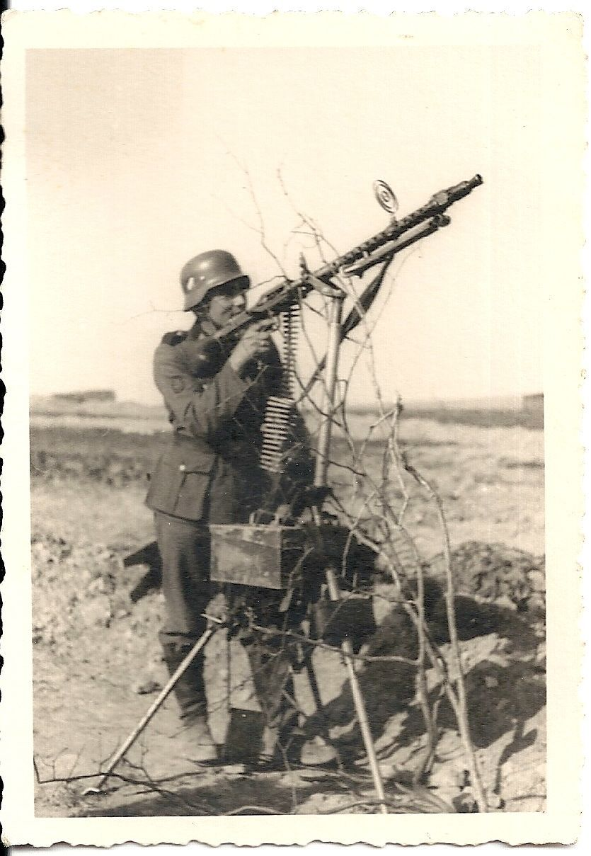 Image result for German anti aircraft tripod for MG42 machine gun