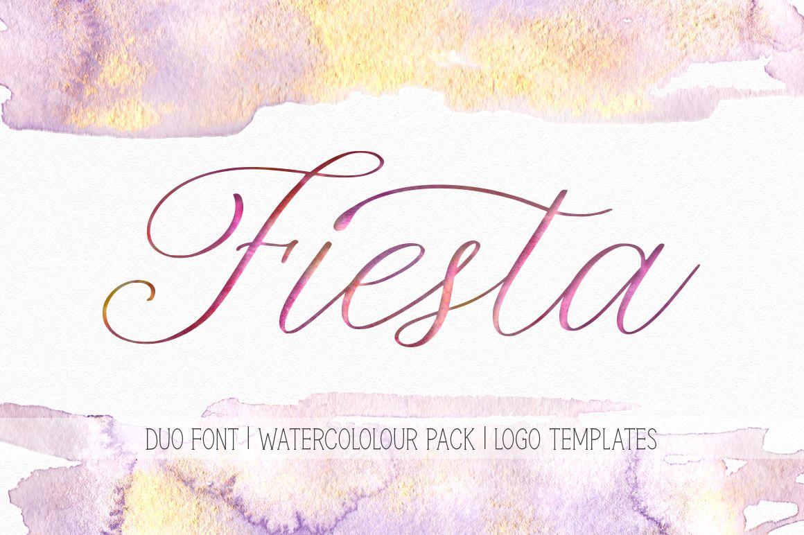Fiesta Font By Red Ink Dengan Gambar