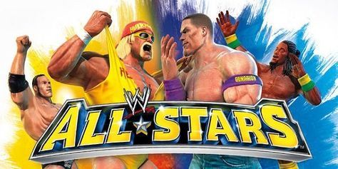 Download WWE All Stars Android psp iso UAS Highly Compressed Game