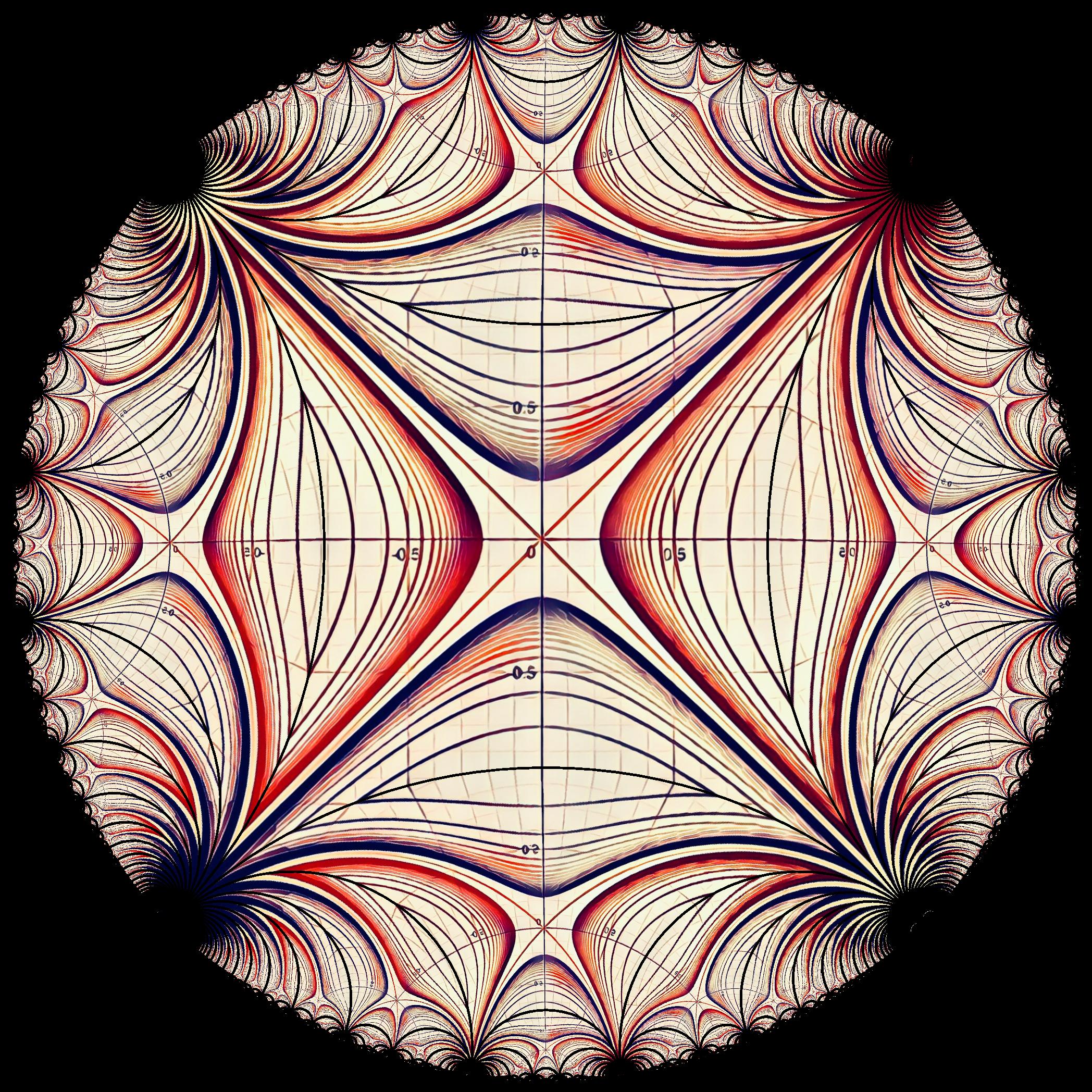 Pin by Philip on Hyperbolic Geometry | Hyperbolic geometry, Geometry, Art