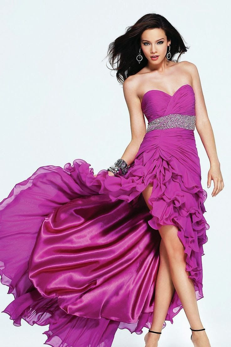 Estás buscando modelos de vestidos de fiesta de promoción ? Aquí te ...