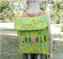 Tutorial: Little Artist Backpack