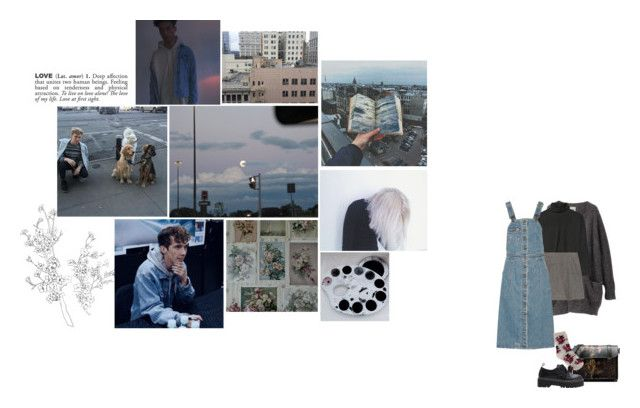 """legal"" by wickedcrystal ❤ liked on Polyvore featuring Acne Studios, Marni, Marc Jacobs, Dr. Martens, ADZif, Sea, New York and Oasis"