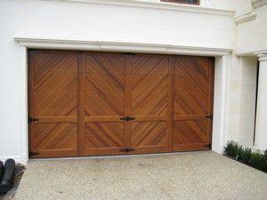 Timber Sectional Doors | RJ Doors & Timber Sectional Doors | RJ Doors | Chevron garage doors ...