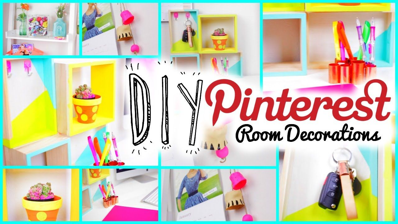 diy pinterest inspired room decorations for teens | cheap! | diy