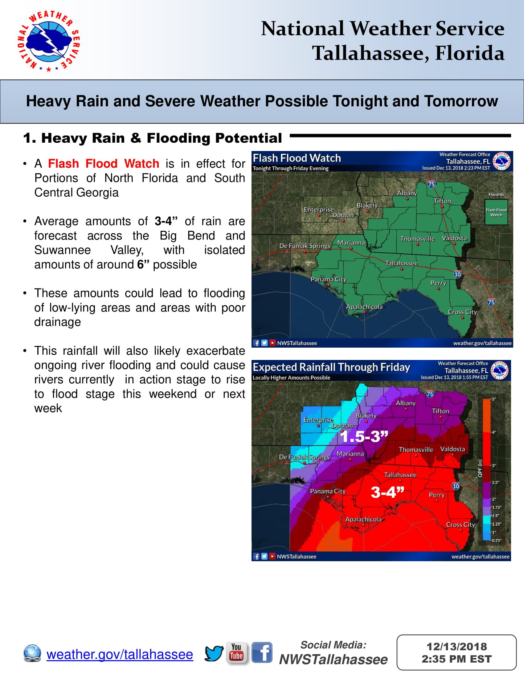 Severe Weather Potential Tonight Thru Friday Severe Weather Severe Weather