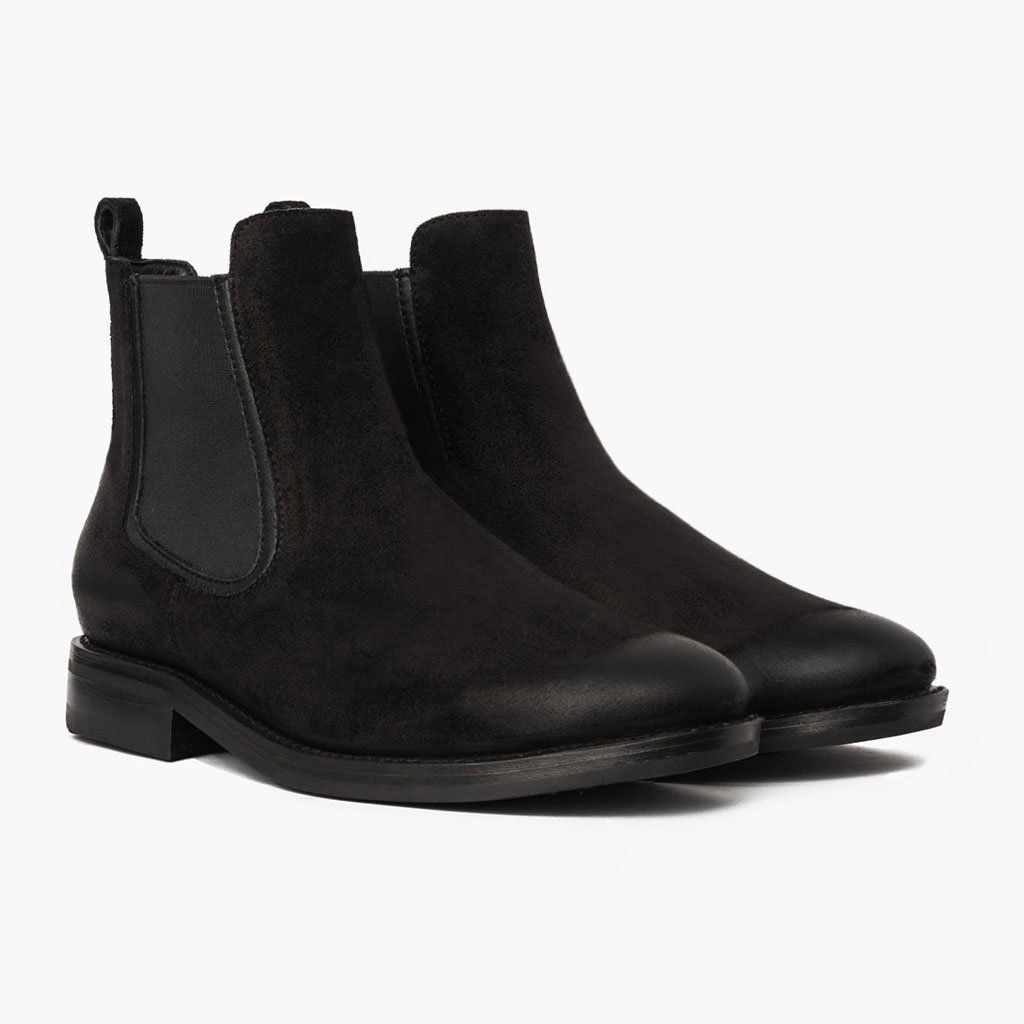 9a258dad0c Duke | Black Suede | prom | Black chelsea boots, Chelsea boots, Boots