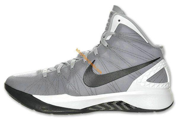 watch 1c6cd 451ec Cute Womens basketball shoes Hyperdunk 2011 Grey White Black