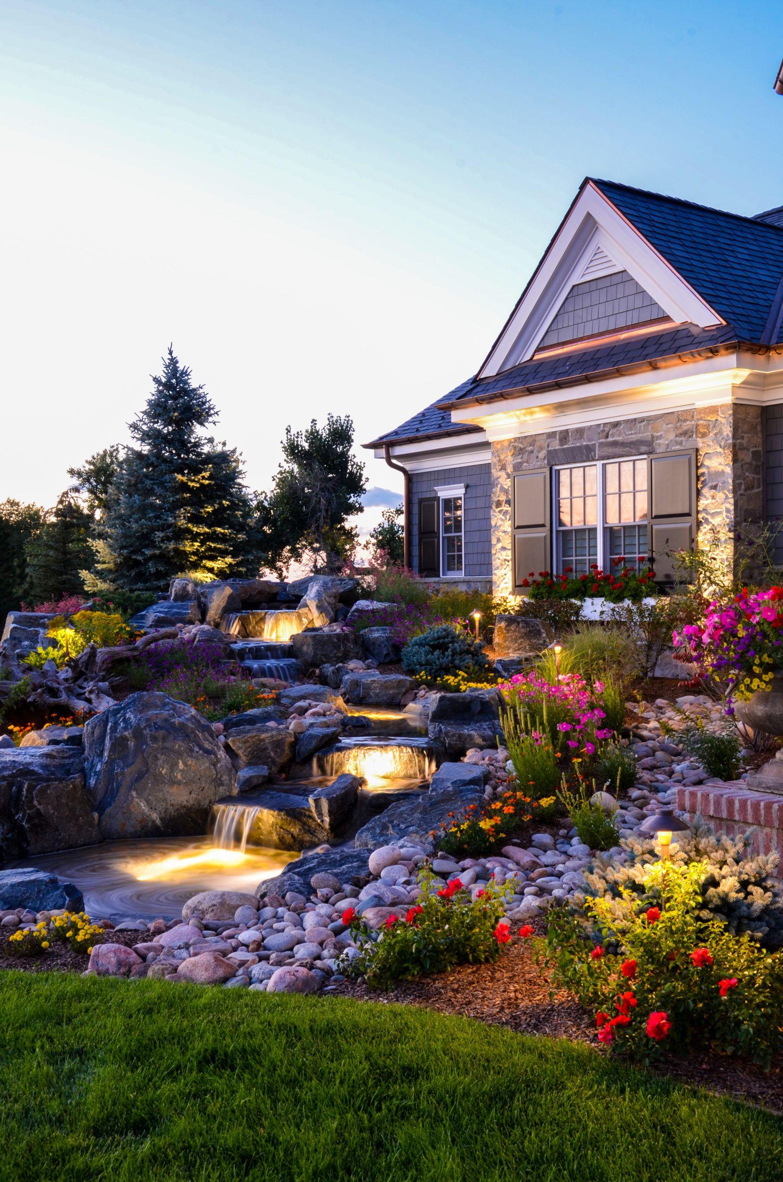 denver outdoor lighting landscape connection backyard addition