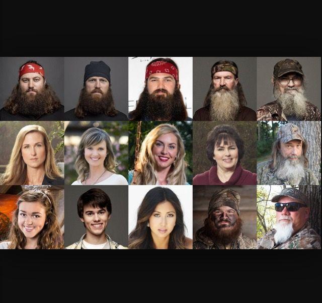 Ladies And Gentlemen The Duck Dynasty Characters Duck Dynasty Cast Duck Dynasty Dynasty Characters