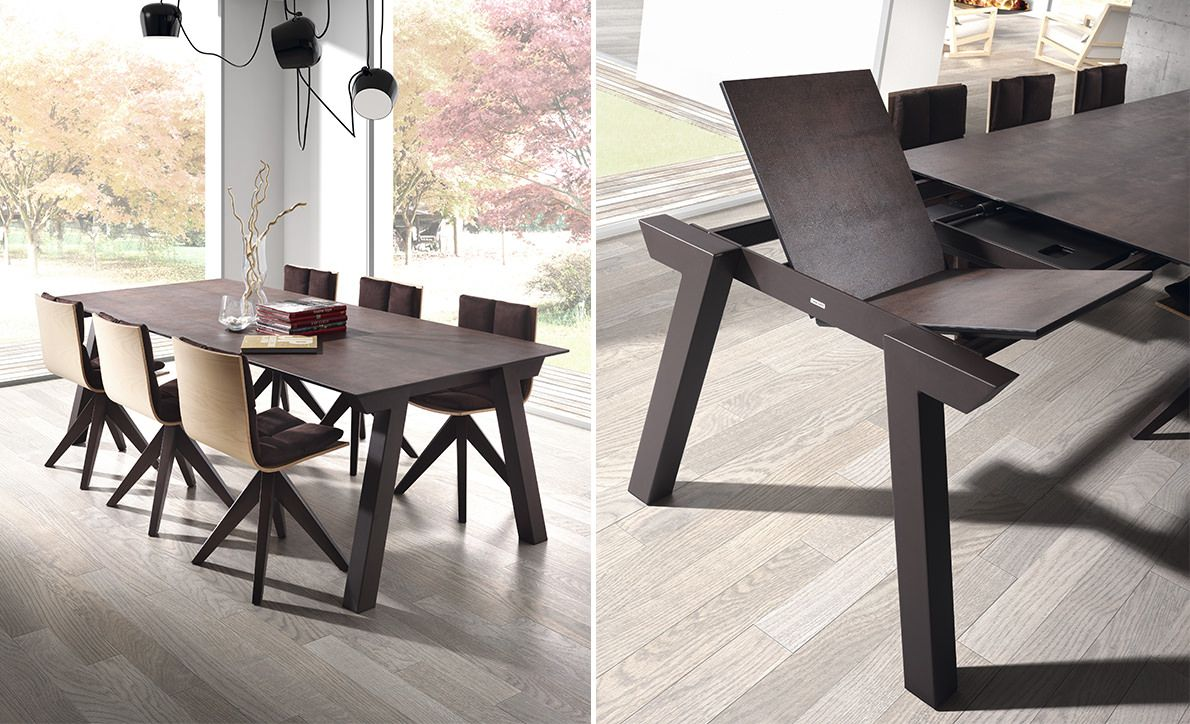 Dressy Duero Extensible Table Salle A Manger Table Ceramique Extensible Table En Ceramique