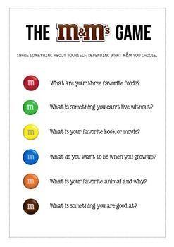 The M Amp M Icebreaker Game Inspirations Icebreaker