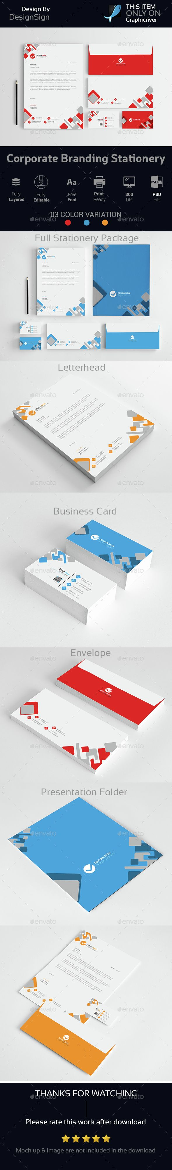 Corporate Branding Stationery Vol-03