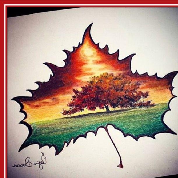 Resultado De Imagen Para Dibujos A Color De Paisajes Dibujos Pinturas Dibujar Arte