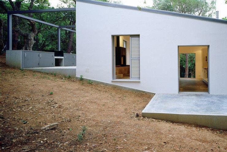 Maison sur un terrain en pente Home Pinterest Architecture