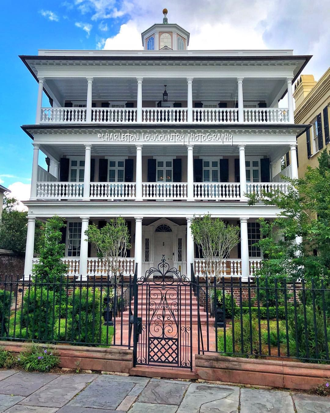 The Colonel John Ashe House (c. 1782). In 2015, This House