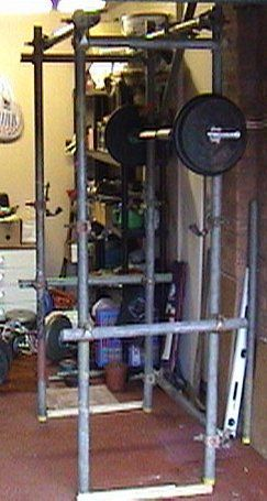 homemade squat rack pipe homemade ftempo
