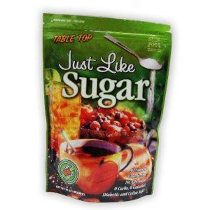 Just-Like-Sugar-Table-Top - Natural Chicory Root Sweetener.  Interesting!