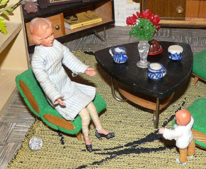 Ems Veb Niedersaida Vintage Dollhouse Dollhouse Dolls Doll House