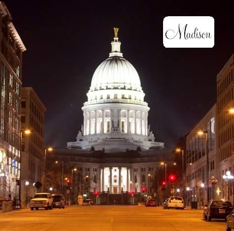 Madison There S Nothing Like Seeing The Capital At Night