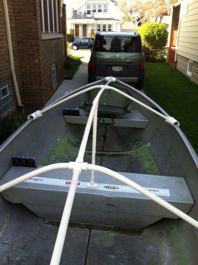 Diy boat cover or tarp support diy