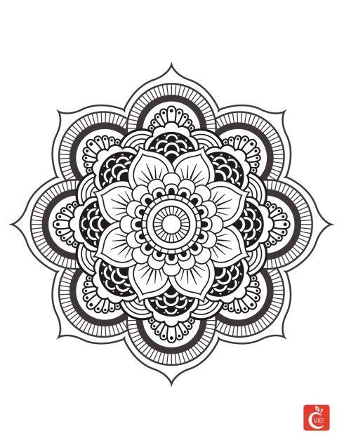 Mandalas Origine Et Effets Benefiques Mandalas Coloriage